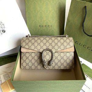 Gucci  Small GG Dionysus  Shoulder Bag Canvas 💓